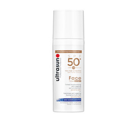 Ultrasun Face Tinted Anti-ageing sun protection SPF 50+ Honey