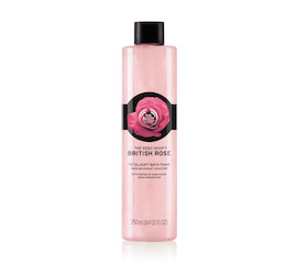 The Body Shop British Rose Bath Milk