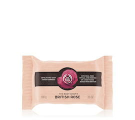 The Body Shop British Rose Soap