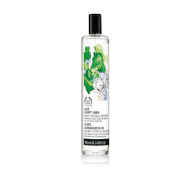 The Body Shop Aloe & Soft Linen Home Fragrance Spritz
