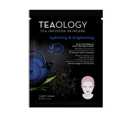 Teaology Blue Tea Miracle Mask hydrating & brightening
