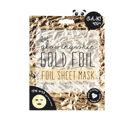 Oh K! Oh K! Gold Foil Sheet Mask
