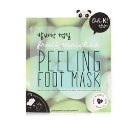 Oh K! Fruit enriched peeling foot mask Fusspflege