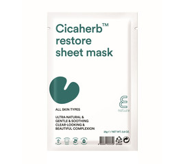 E. NATURE Cicaherb Restore Sheet mask