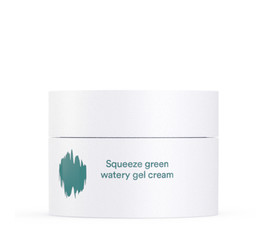 E. NATURE Squeeze green watery gel cream