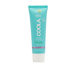 COOLA Mineral Sunscreen Face Cucumber Matte Finish
