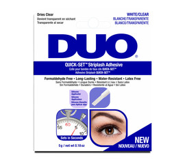 DUO DUO Quick-Set Striplash Adhesive Clear