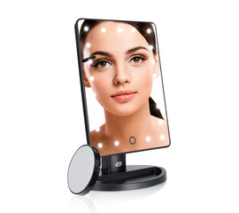 Rio LED Touch Dimmable Beauty Mirror