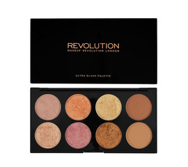 Makeup Revolution Golden Sugar 2 Ultra Blush, Bronze & Highlight Palette