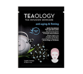 Teaology White Tea Miracle Mask anti-aging & firming