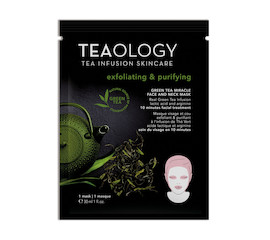 Teaology Green Tea Miracle Mask exfoliating & purifying