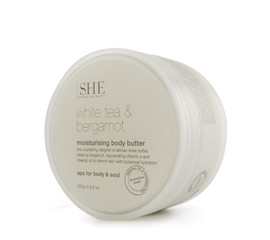 Om She She Body Butter Bergamot & White Tea