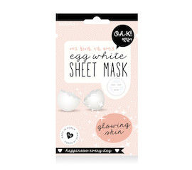 Oh K! Oh K! Sheet Mask Egg White