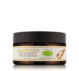 Seamantika Sesame Seed Oil Salt & Oil Body Scrub