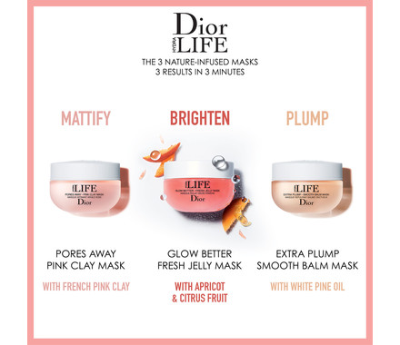 Dior Hydra Life Pores Away Pink Clay Mask